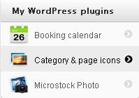 плагин иконок Category and Page Icons