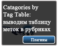плагин Catagories by Tag Table